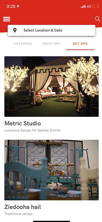 Event Setup App